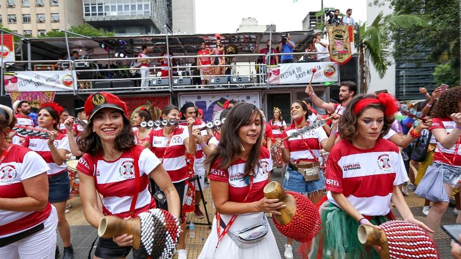 Carnaval do Baixo Augusta - Marcelo Justo/UOL