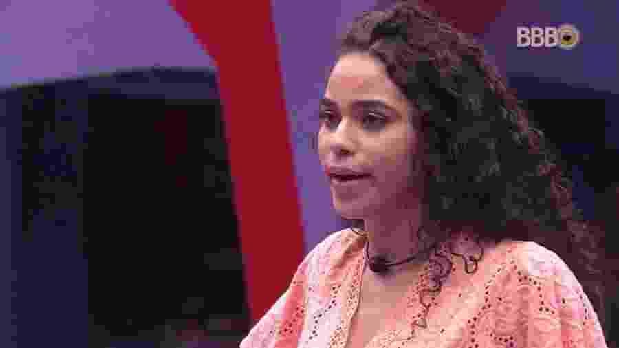 Elana conversa com os brothers sobre prova do líder - Reprodução/GloboPlay