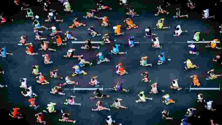 O ideal é ter de dois a três anos de experiência na corrida antes de fazer uma maratona - iStock
