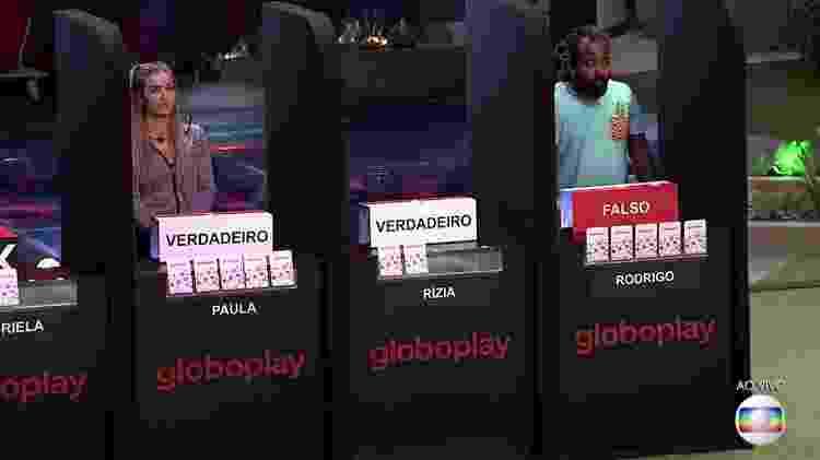 Final da prova - Reprodução/TvGlobo - Reprodução/TvGlobo