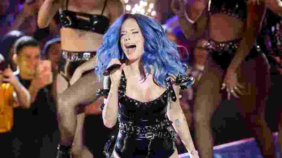 Halsey fez show com direito a pirotecnia no MTV Miaw - Manuela Scarpa e Iwi Onodera/Brazil News