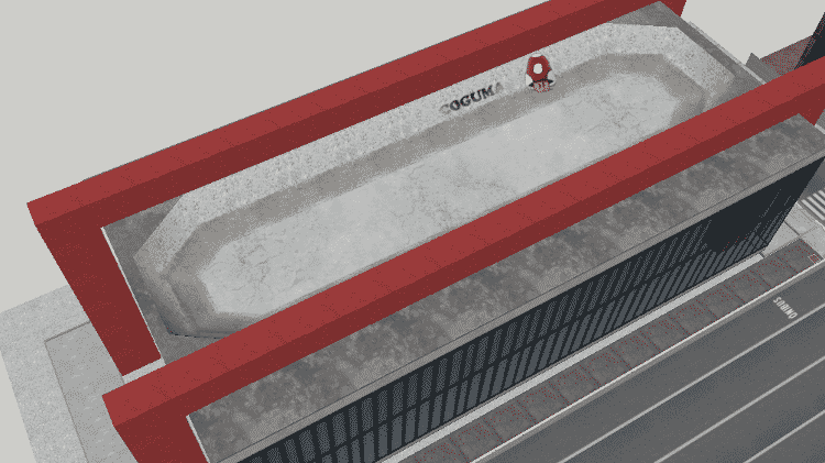 Façanhas da arquitetura: nada como colcoar uma pista de skate no teto do MASP - Divulgação/Raphael Papini