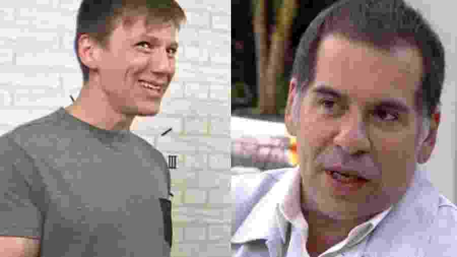 Felipe Suhre e Leandro Hassum aparecem na Globo após deixaram a emissora - Reprodução/Globo