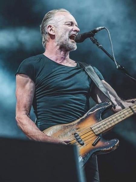 O cantor Sting - Reprodução/Instagram