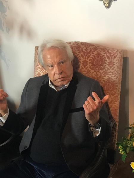 Cid Moreira comentou a perda de Whindersson Nunes e Maria Lina - Rafael Godinho/UOL