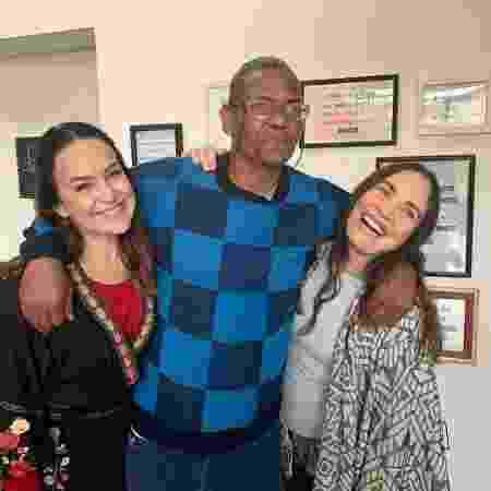 Gabriela e Regina Duarte fazem trabalho voluntário - Reprodução/Instagram