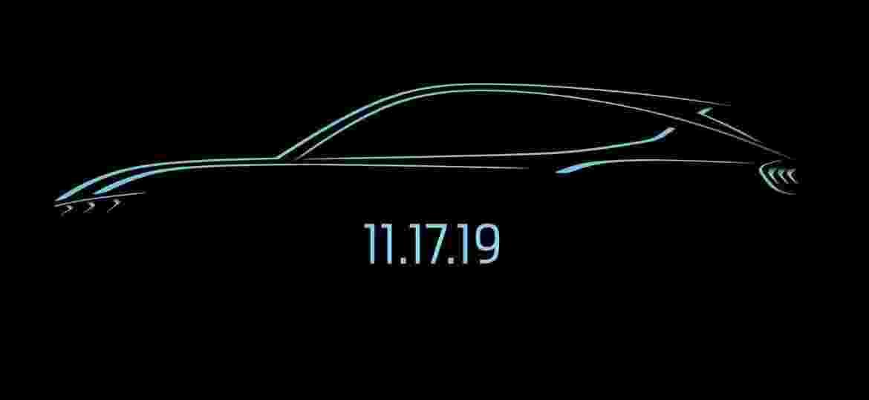Mach-E será revelado ao mundo em evento no dia 17 de novembro - Divulgação