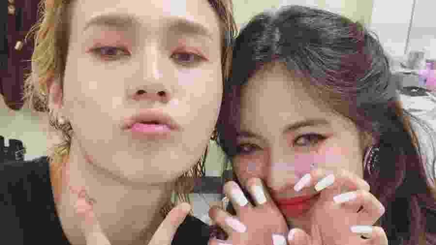 HyunA e Dawn - Reprodução/Instagram