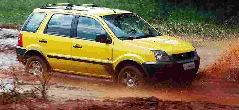 Ford EcoSport: foi com ele que a febre dos SUVs compactos começou - Divulgação