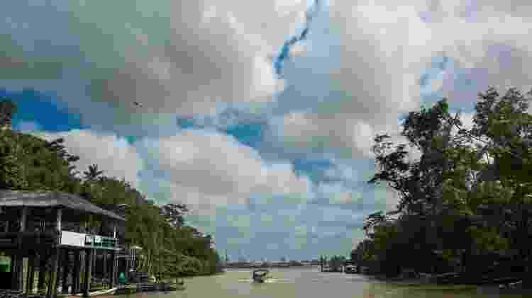 Ilha do Combu, no Pará - Carlos Borges Moire - Carlos Borges Moire