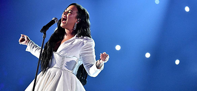 Demi Lovato se apresenta no Grammy 2020 - Emma McIntyre/Getty Images for The Recording Academy