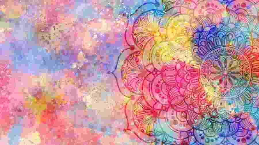 Mandala colorida tem significados: aprenda a usar - jakkaje808/Getty Images/iStockphoto