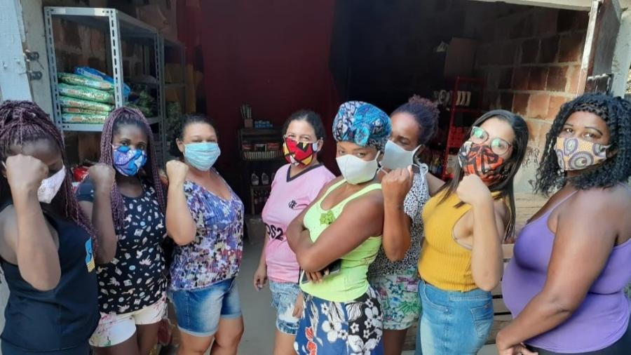 Integrantes do coletivo Mulheres da Parada, de São Gonçalo (RJ) - Arquivo Pessoal