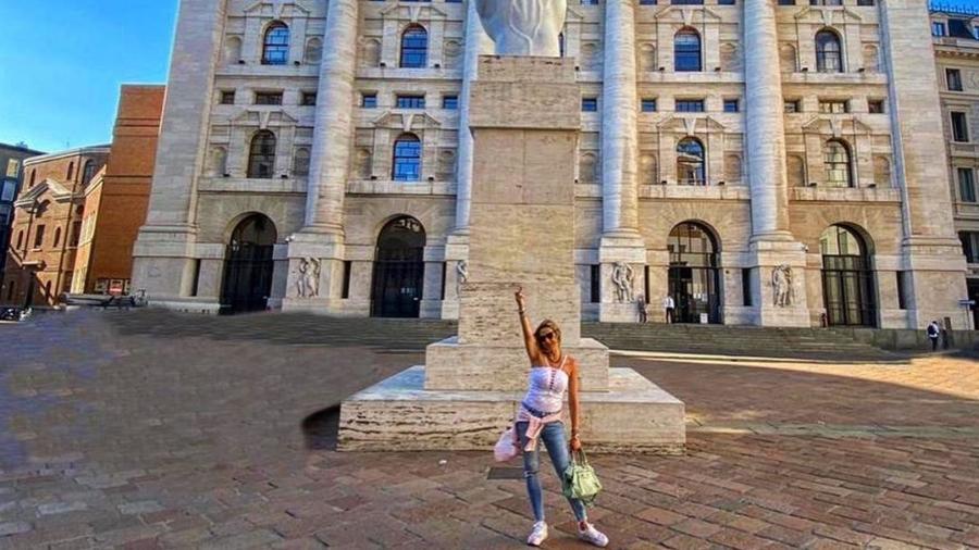 Luana Piovani em Milão - Reprodução/Instagram