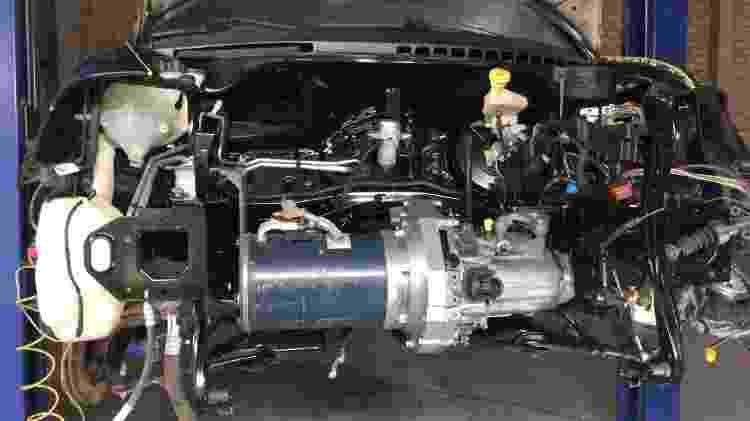 Citroën C3 elétrico porto alegre Julio Cesar Otero Boehl motor - Arquivo pessoal - Arquivo pessoal