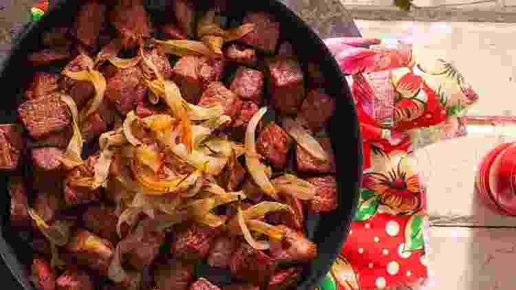 Carne de sol: prato essencial em uma visita à Paraíba - Marcelo Resende/UOL - Marcelo Resende/UOL