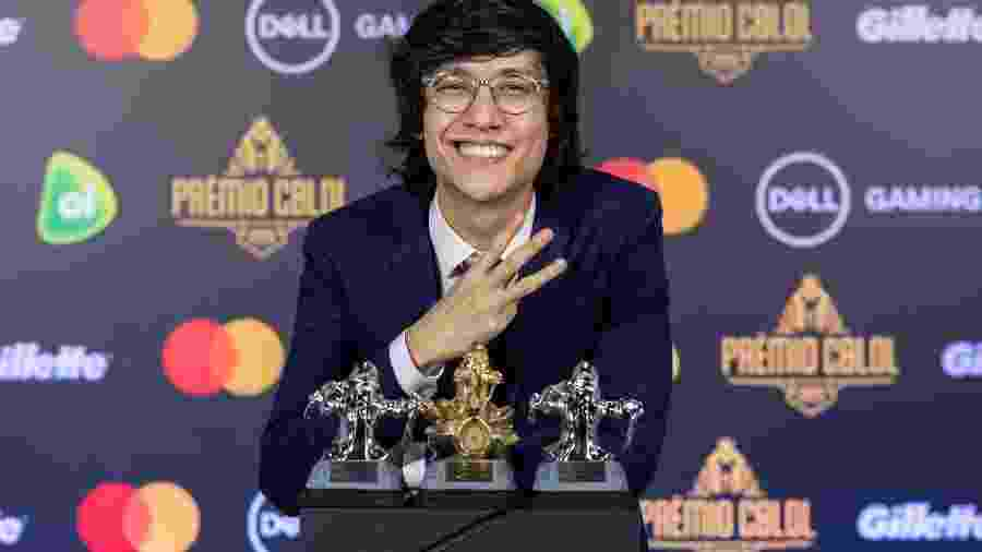 Tinowns, da paiN Gaming, ganhou como Melhor Meio, Melhor Jogador e Craque da Galera - Divulgação/Riot Games