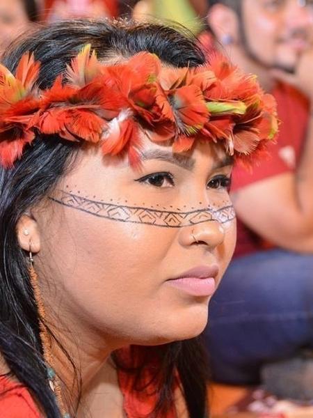 Alana Manchineri, comunicadora da Coiab Amazônia - Arquivo Pessoal