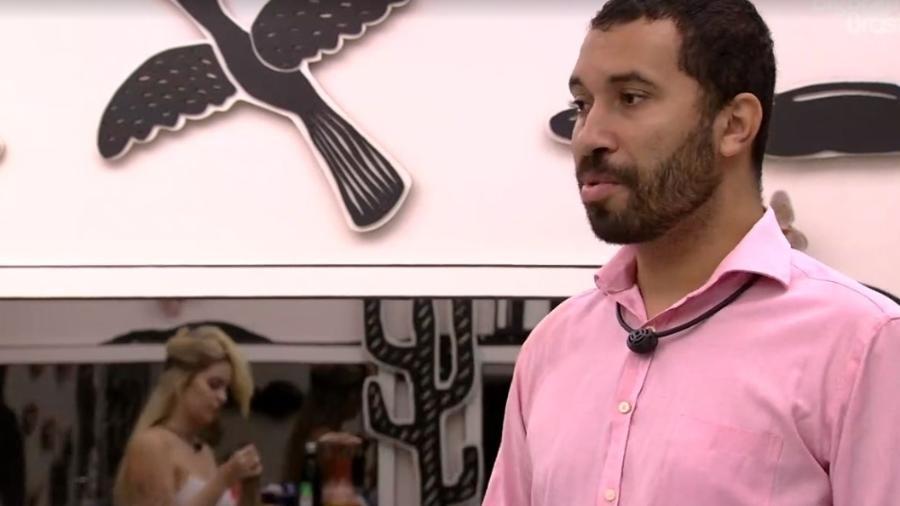 BBB 21: Gilberto conversa no quarto cordel - Reprodução/ Globoplay