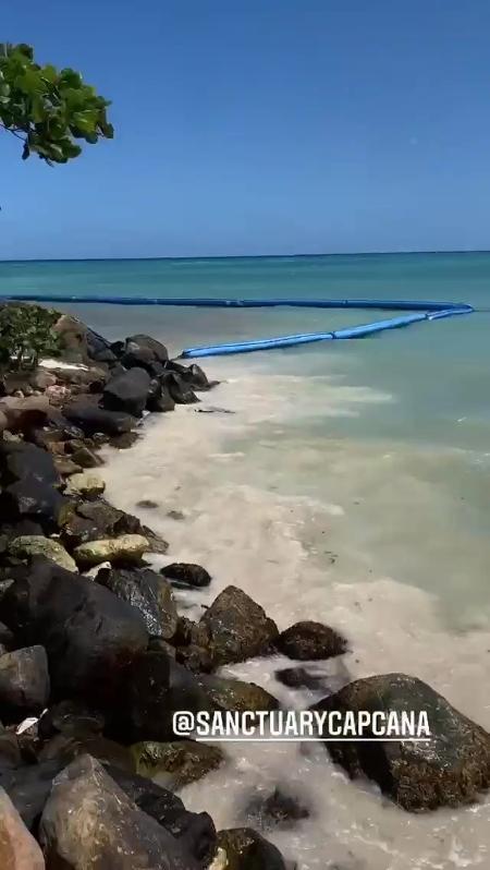 Anitta mostrou paisagem do resort - Reprodução/Instagam @anitta - Reprodução/Instagam @anitta