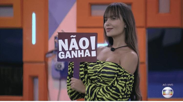 Thaís - Reprodução/Globoplay - Reprodução/Globoplay