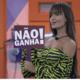 BBB 21: Thaís com a placa de 'não ganha' durante o jogo da discórdia - Reprodução/Globoplay