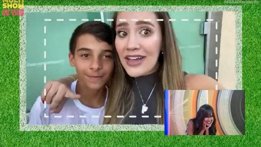 BBB 21: Irmã de Thaís esclarece fala polêmica durante vídeo do anjo - Reprodução/ Globoplay