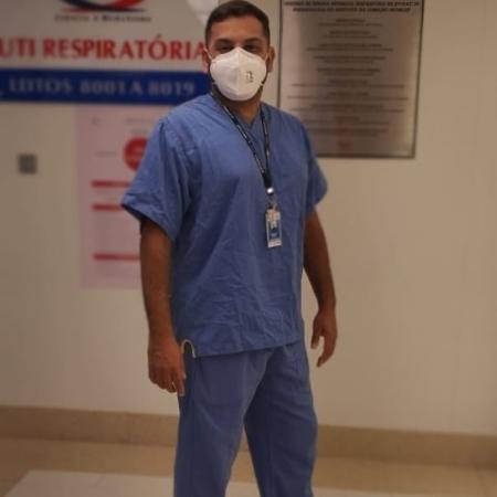 Fábio Rodrigues é fisioterapeuta cardiorrespiratório e de terapia intensiva em um grande hospital de São Paulo - Reprodução/Instagram/@fabioirodrigues