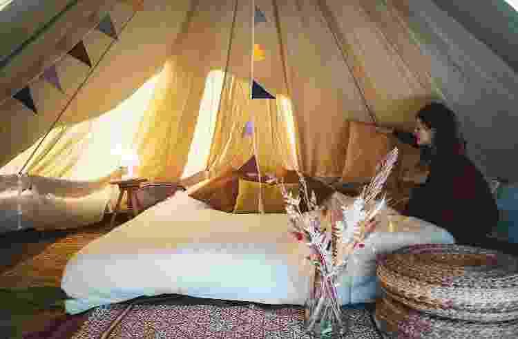 Interior da cabana do Vlotkamp Hotel - Reprodução/Vlotkamp Hotel - Reprodução/Vlotkamp Hotel