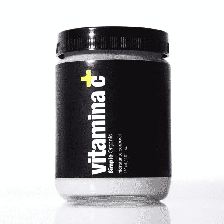 Hidratante corporal Vitamina C, Simple Organic - Divulgação - Divulgação
