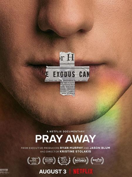 """Cartaz de divulgação do documentário """"Pray Away"""" - Reprodução/Instagram @prayawayfilm"""