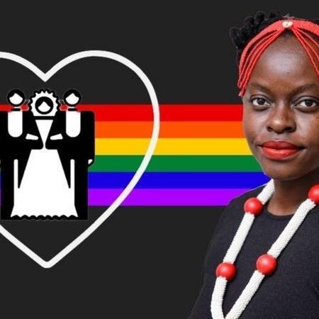 Muvumbi Ndzalama defende que mulheres também tenham direito a ter mais de um parceiro dentro do casamento - BBC