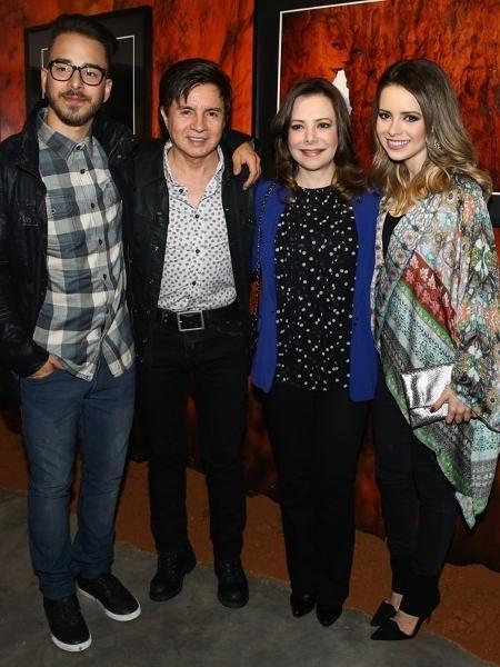 Júnior Lima, Xororó, Noely e Sandy - Manuela Scarpa/Photo Rio News