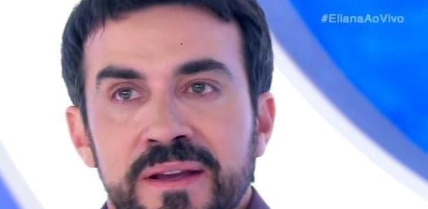 """Padre Fábio de Melo se emociona no programa """"Eliana"""" - Reprodução/SBT"""