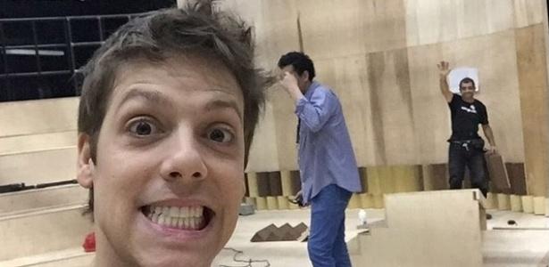 Fábio Porchat começa na noite de hoje seu trabalho na Olimpíada da Record - Reprodução/Instagram