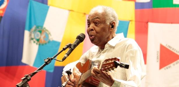 """Em setembro, Gilberto Gil chegou a fazer um show da turnê """"Dois Amigos, Um Século de Música"""" com Caetano Veloso, em São Paulo - Rafael Cusato/Brazil News"""