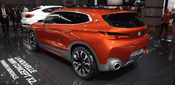 BMW X2 Concept - Murilo Góes/UOL - Murilo Góes/UOL