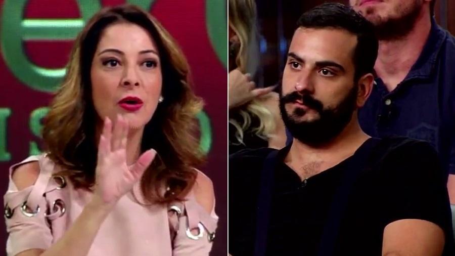 """Ana Paula Padrão e Marcelo discutem sobre machismo em """"MasterChef: Profissionais - A Reunião"""" - Montagem/Reprodução/Band"""