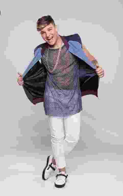 O cantor MC Gui tem 18 anos e fará par com a bailarina Bella Fernandes - Blad Meneghel e Edu Moraes/Record TV