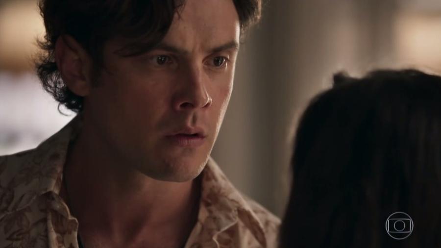 """Em """"O Outro Lado do Paraíso"""", Gael tem crise de ciúmes de novo e agride Clara - Reprodução/Gshow"""