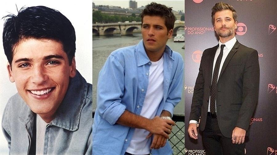 """Aos 18 anos, Bruno Gagliasso estreou nas telenovelas em """"Chiquititas"""", três anos depois, ele fez """"Celebridade""""; hoje, aos 35, é um dos principais atores de sua geração"""