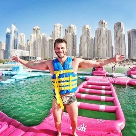 Marcos Harter em Dubai - Reprodução/Instagram/drmarcosharter
