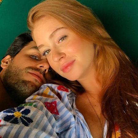 Marina Ruy Barbosa posta foto com declaração para o marido, Xandinho Negrão - Reprodução/Instagram/marinaruybarbosa