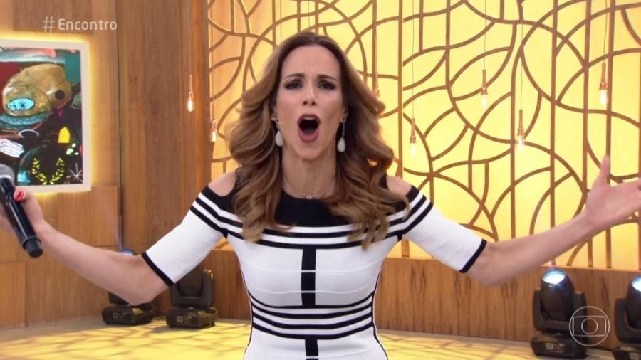 """Ana Furtado apresentou o """"Encontro"""" desta quarta-feira (17) - Reprodução/Globo"""