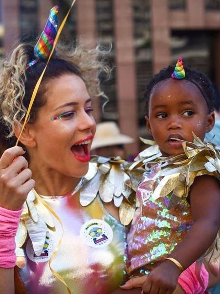 Leandra Leal com a filha, Júlia - Reprodução/Instagram