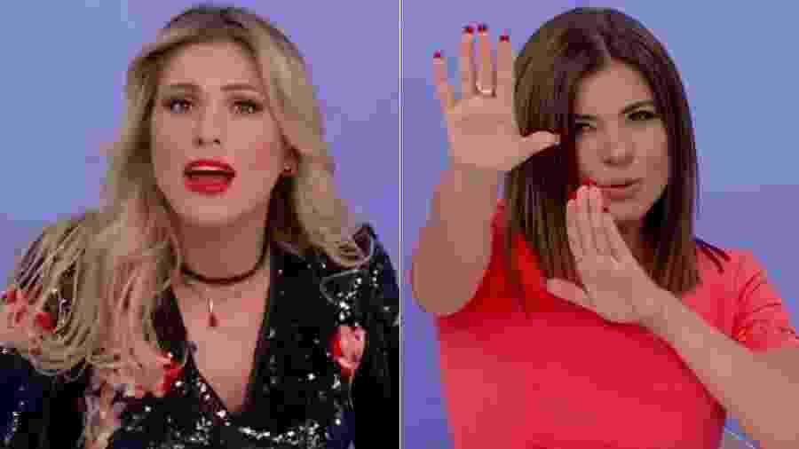 Lívia Andrade e Mara Maravilha se odeiam e estão pesando o ambiente nos bastidores do SBT - Montagem/Reprodução/SBT