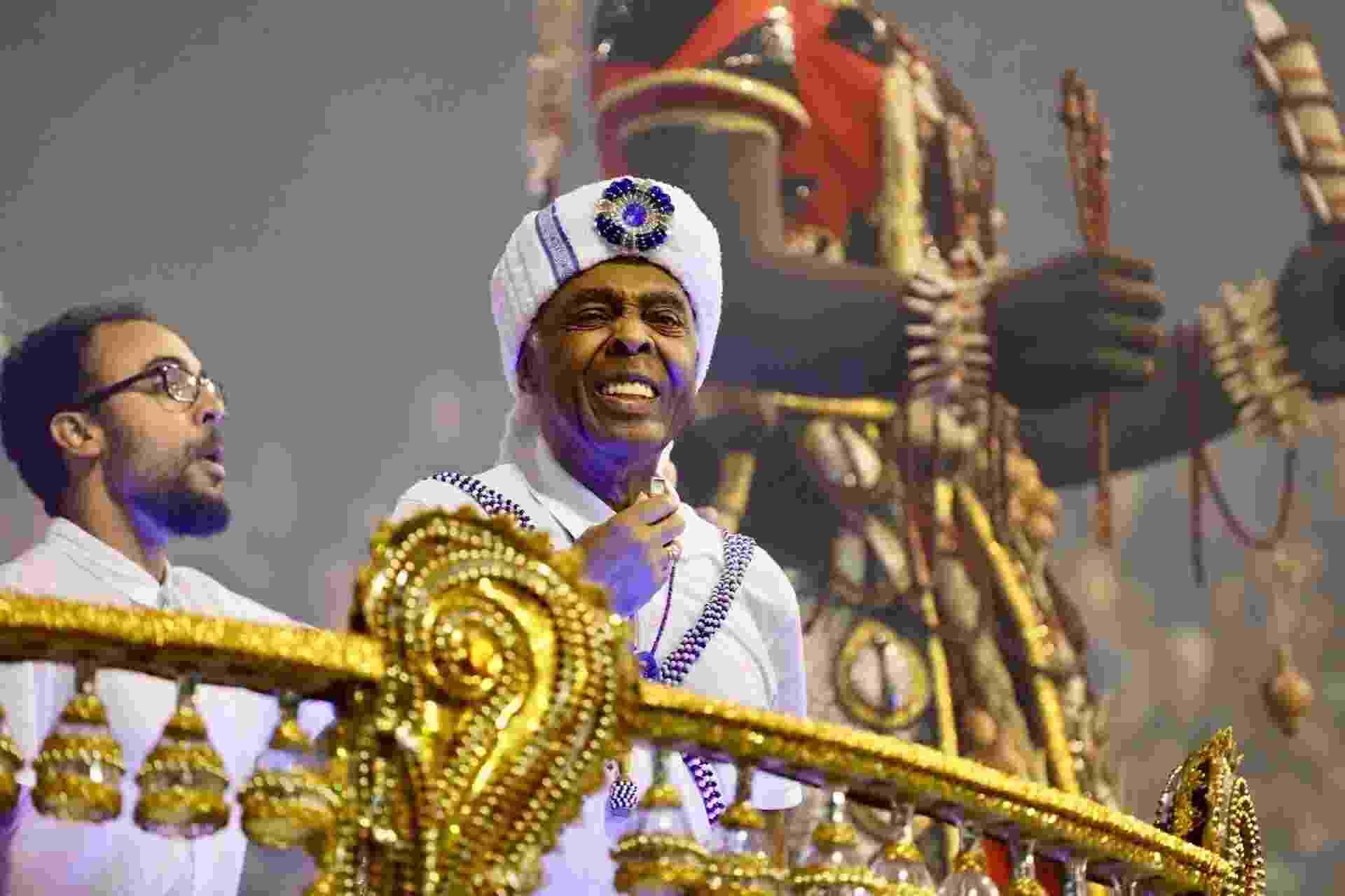 Gilberto Gil é homenageado pela Vai-Vai em desfile - Simon Plestenjak/UOL