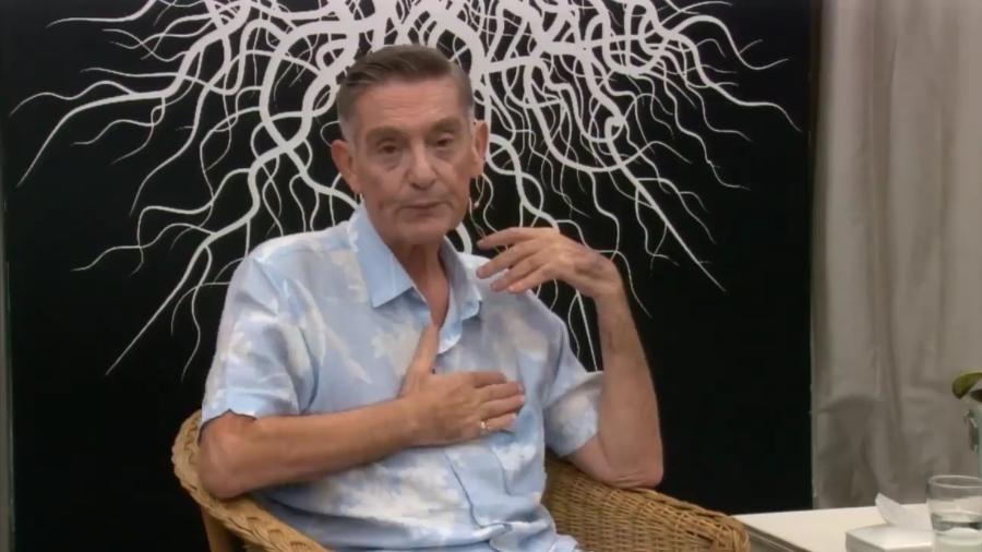 Luiz Gasparetto, ex-apresentador da RedeTV!, revela ter câncer no pulmão - Reprodução/Facebook