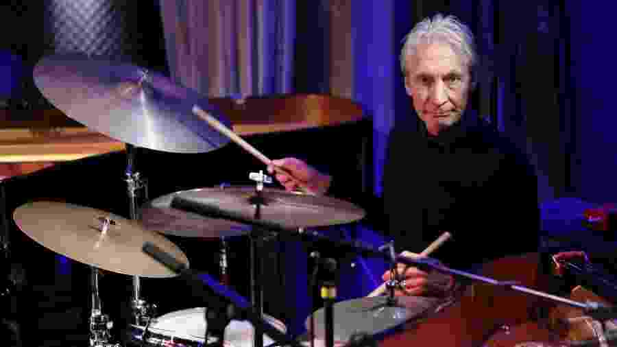 O baterista Charlie Watts, dos Rolling Stones - Pierre Verdy/AFP/Getty Images
