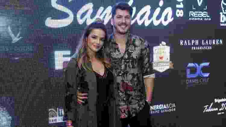 Caio Paduan e Jéssica Benfica  - Roberto Filho/Brazil News - Roberto Filho/Brazil News